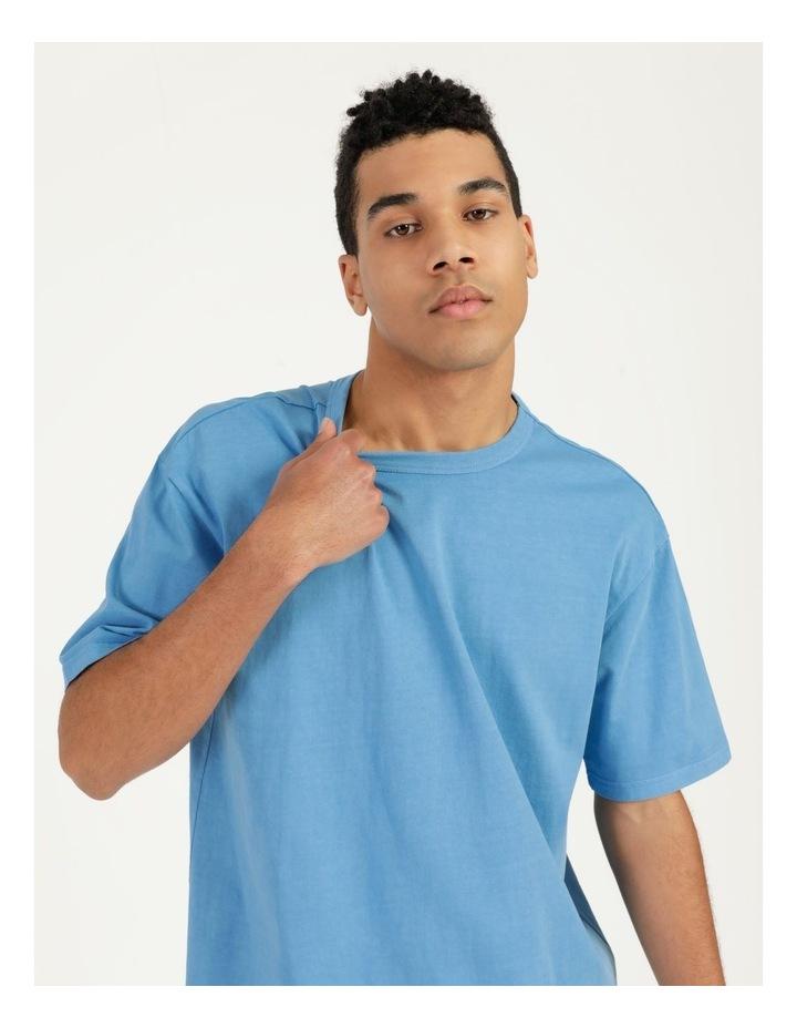 Hooley Heavy Pigment Short Sleeve Skater Tee Blue image 2