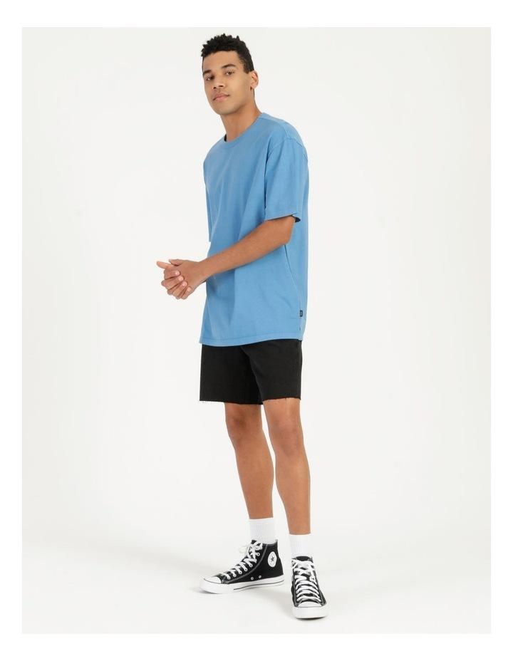 Hooley Heavy Pigment Short Sleeve Skater Tee Blue image 3