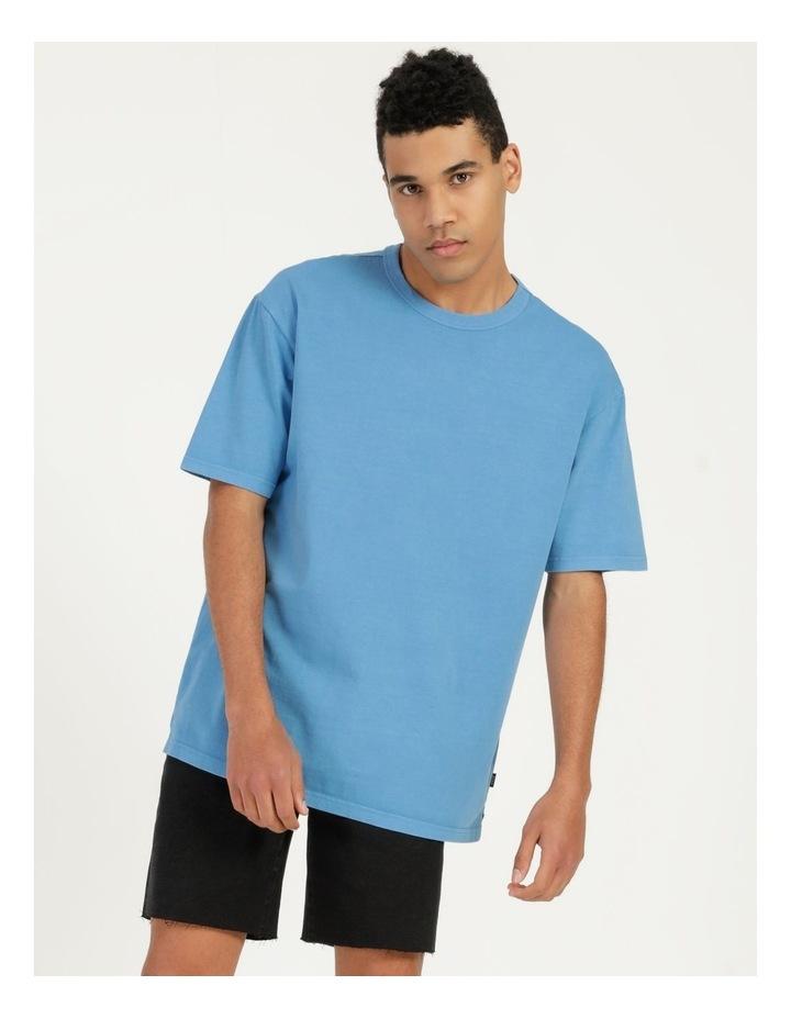 Hooley Heavy Pigment Short Sleeve Skater Tee Blue image 4
