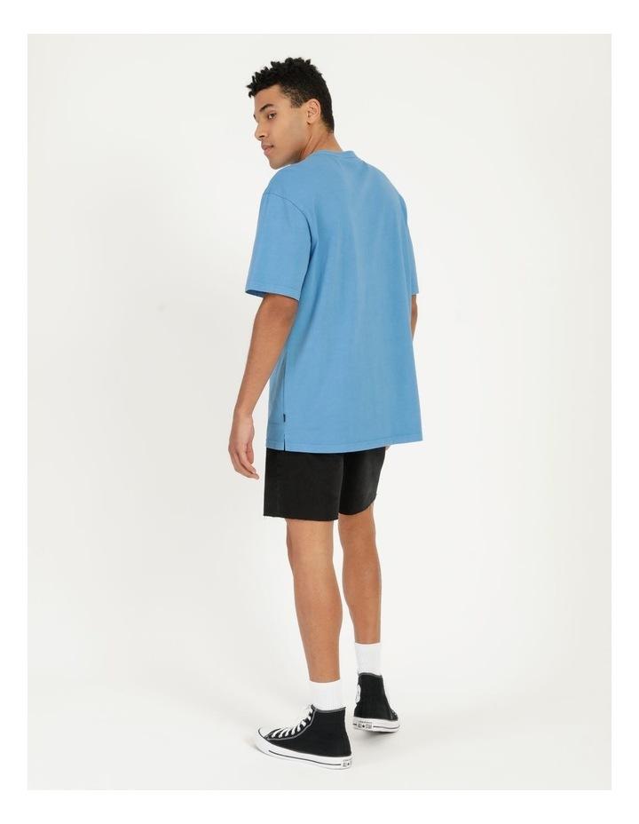 Hooley Heavy Pigment Short Sleeve Skater Tee Blue image 5