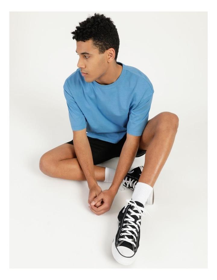 Hooley Heavy Pigment Short Sleeve Skater Tee Blue image 6