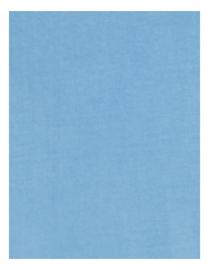 Hooley Heavy Pigment Short Sleeve Skater Tee Blue image 7