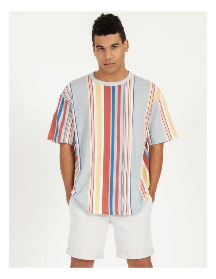 Seville Stripe Short Sleeve Skater Tee image 6