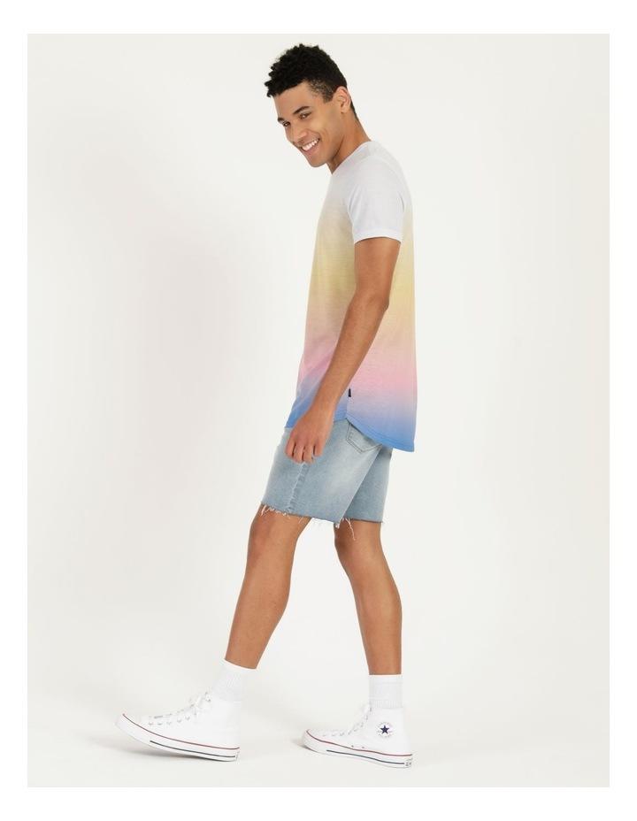 Dinky-Di Dip Dye Short Sleeve Tee Pink image 1