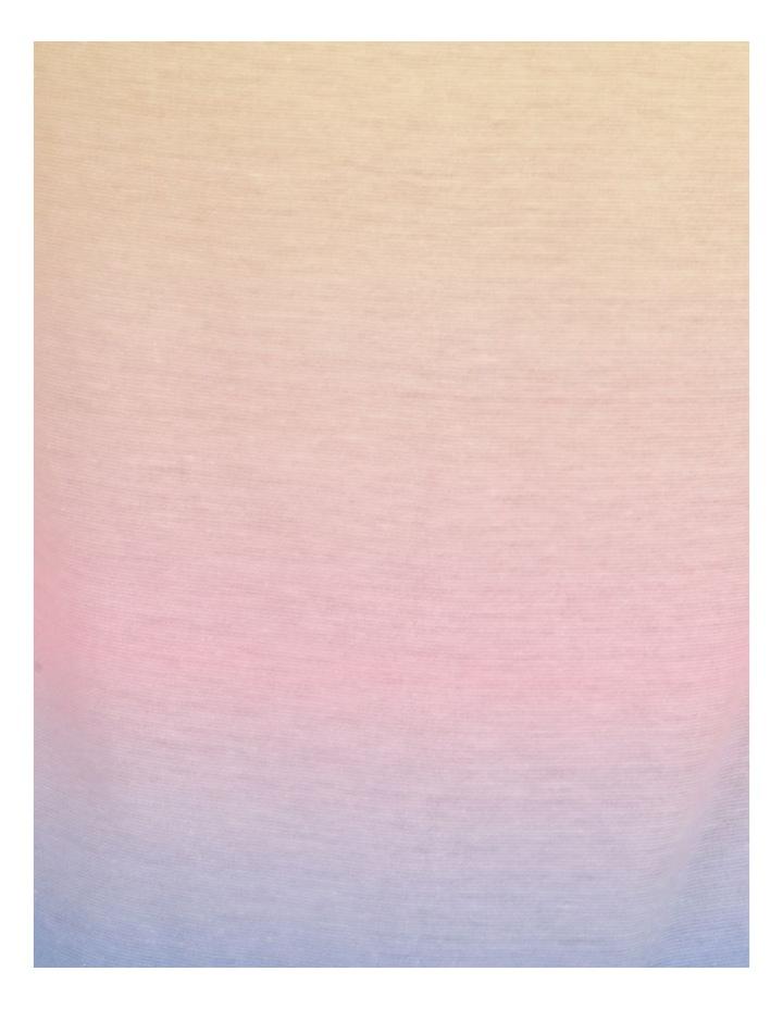 Dinky-Di Dip Dye Short Sleeve Tee Pink image 7