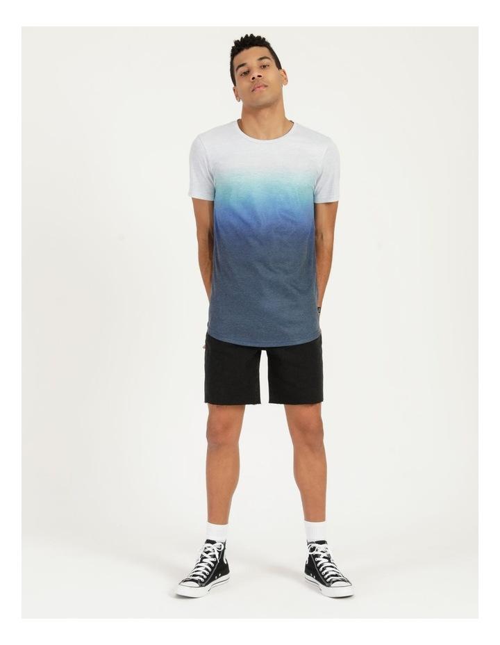 Dinkum Dip Dye Short Sleeve Tee Blue image 1