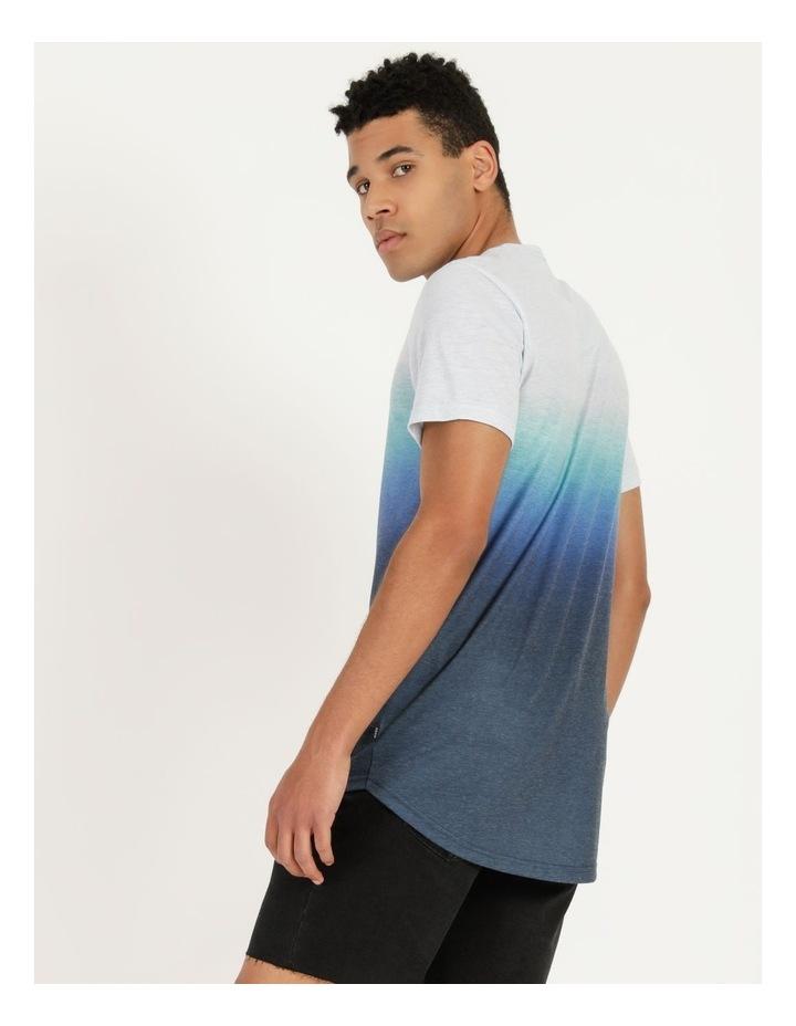 Dinkum Dip Dye Short Sleeve Tee Blue image 2