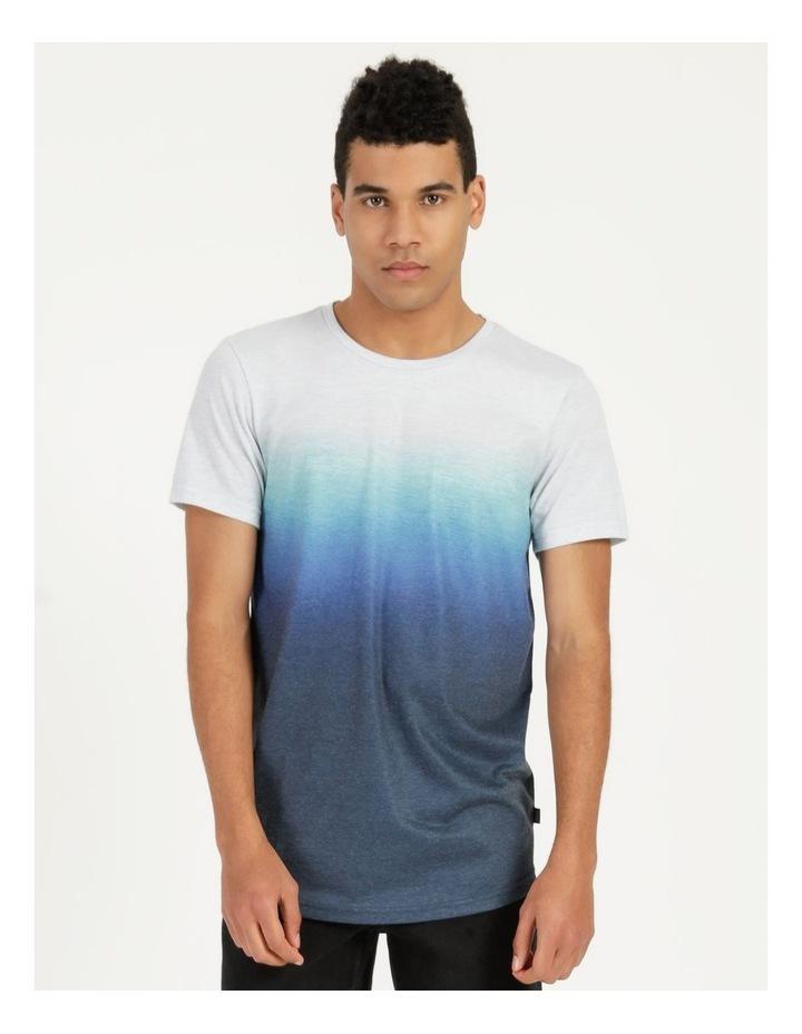 Dinkum Dip Dye Short Sleeve Tee Blue image 4