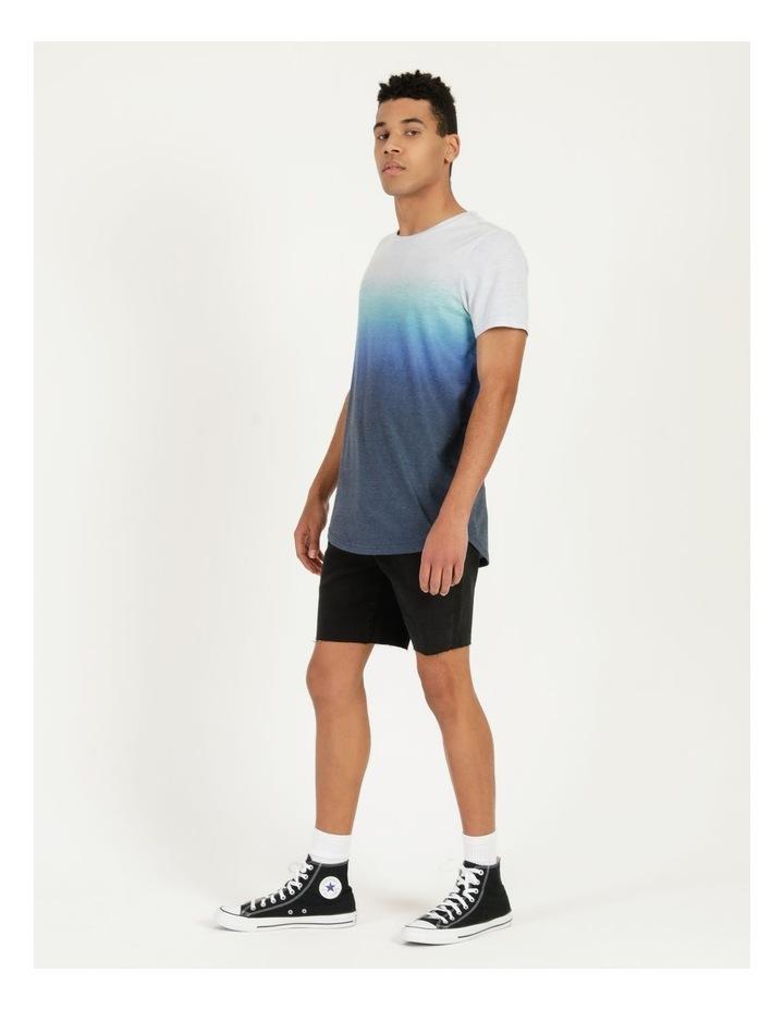Dinkum Dip Dye Short Sleeve Tee Blue image 5