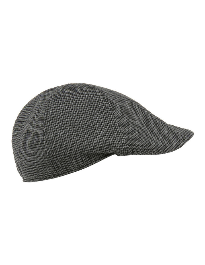 Mini Houndstooth Driving Cap image 2