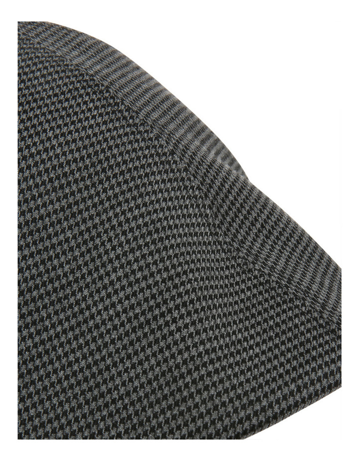 Mini Houndstooth Driving Cap image 4