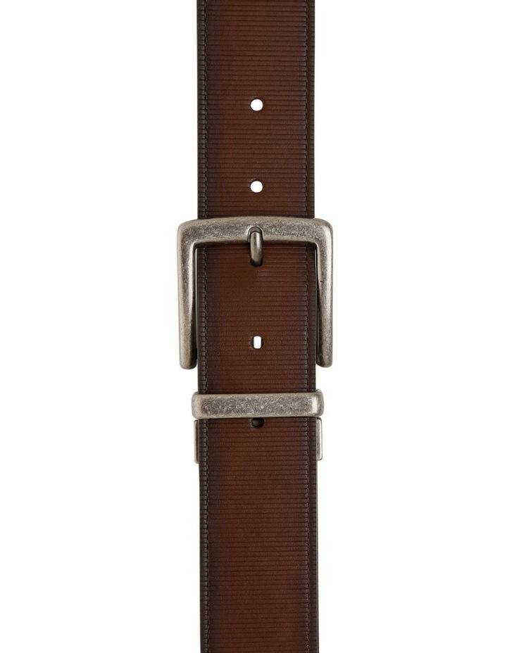 Brown Textured Reversible Belt image 1