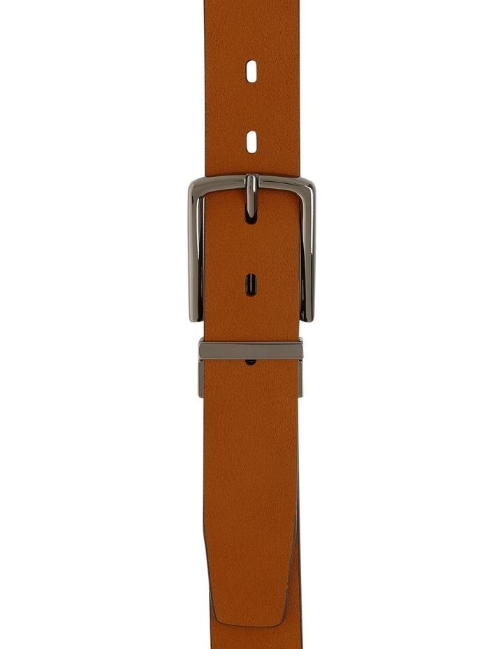 Tan Skinny Reversible Belt image 1