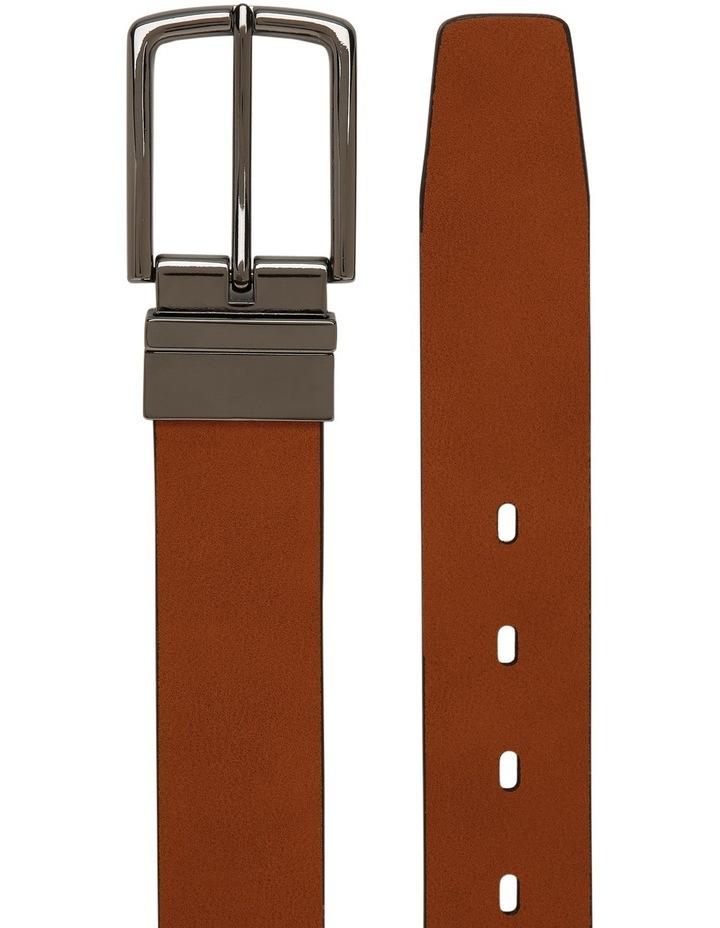 Tan Skinny Reversible Belt image 2