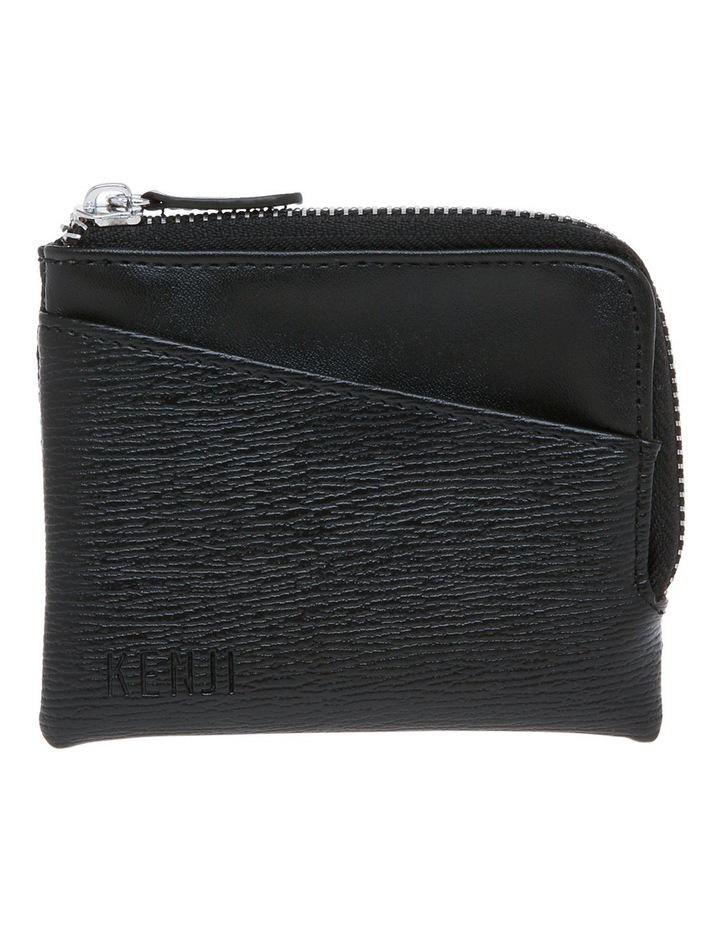Black Zip Around Wallet image 1