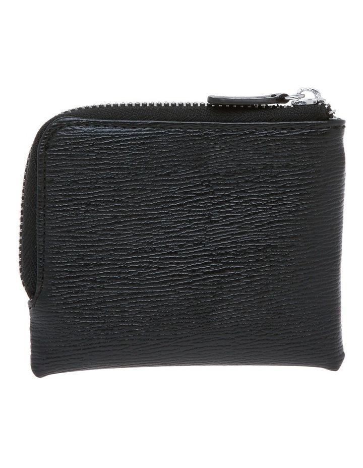 Black Zip Around Wallet image 2