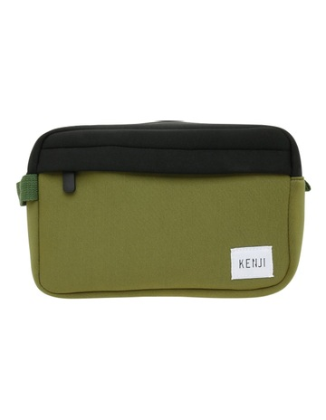 a4550bff89 Kenji Khaki Toiletry Bag