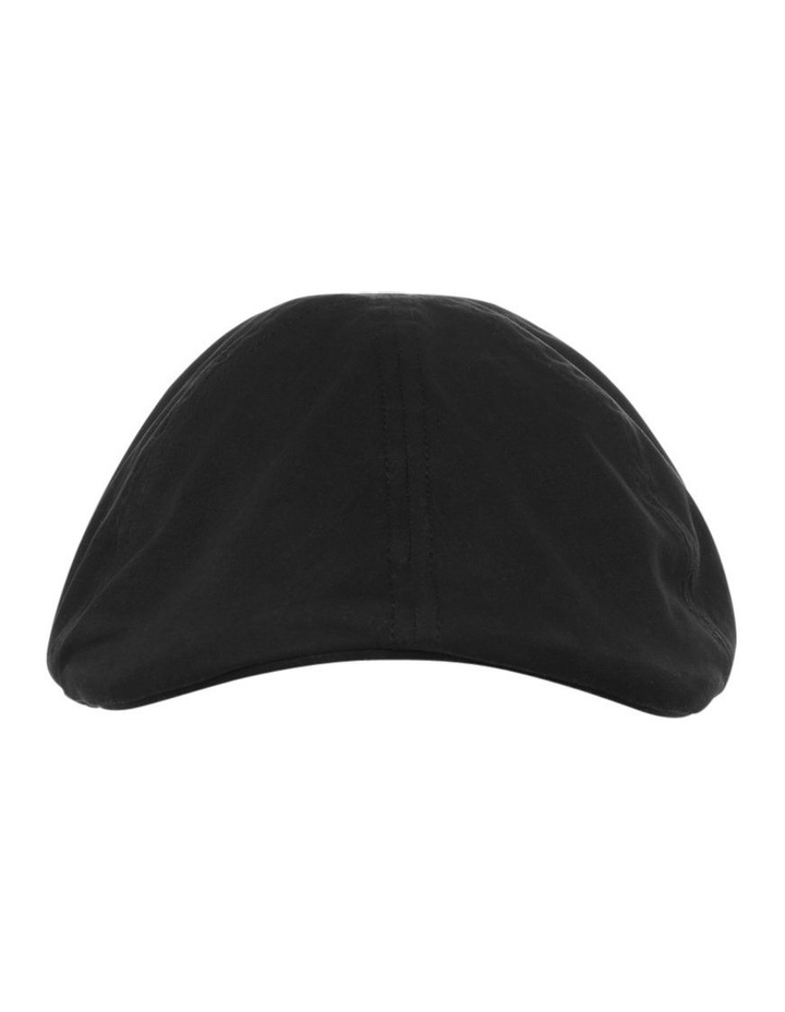 Plain Black Drivers Cap image 1