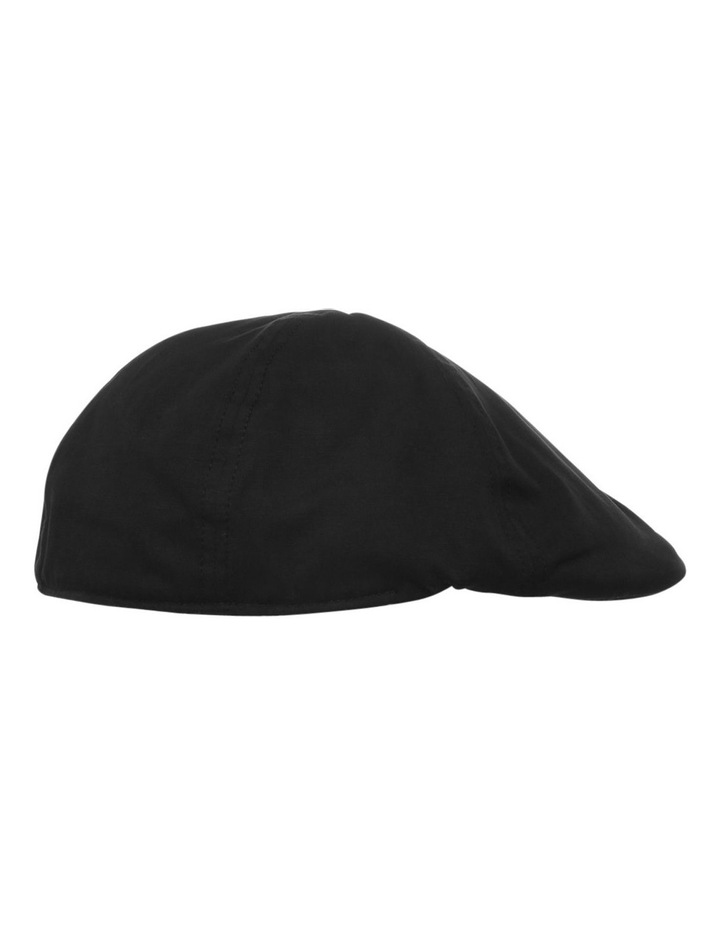 Plain Black Drivers Cap image 2