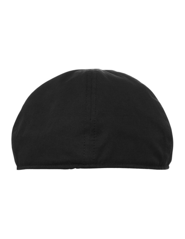 Plain Black Drivers Cap image 3