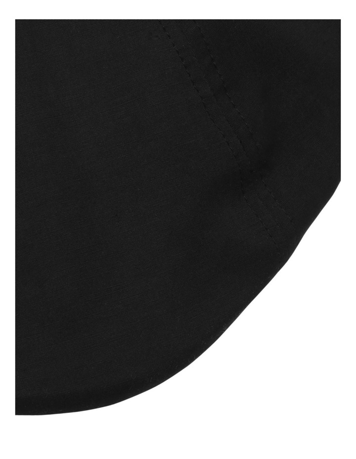 Plain Black Drivers Cap image 4