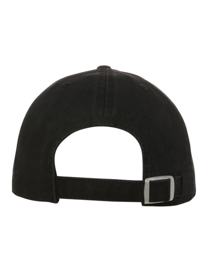 All Good Black Baseball Cap image 3