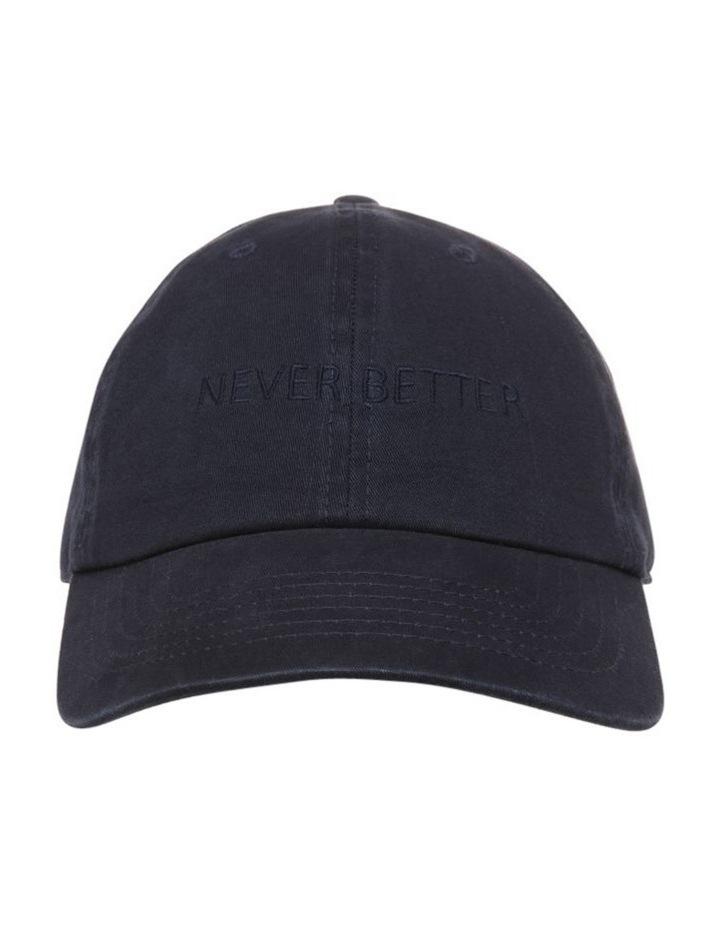 Never Better Navy Baseball Cap image 1
