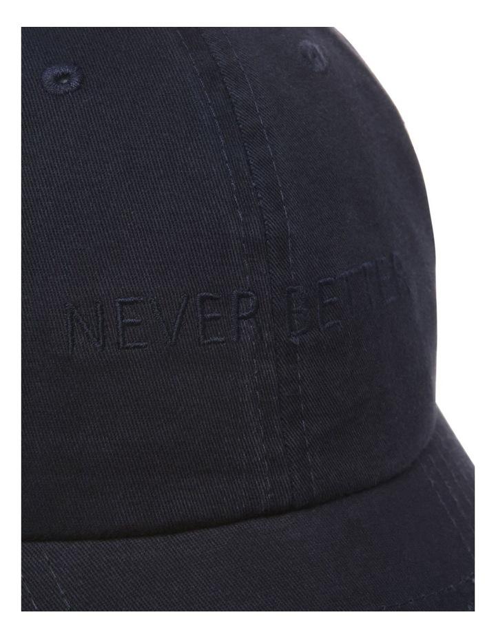 Never Better Navy Baseball Cap image 4