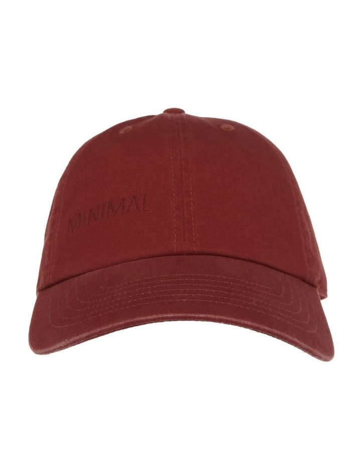 MINIMAL BASEBALL CAP image 1