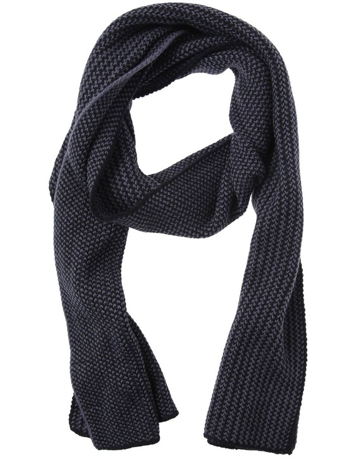 2 TONED KNIT SCARF image 1