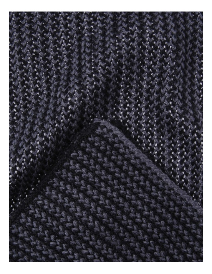 2 TONED KNIT SCARF image 2