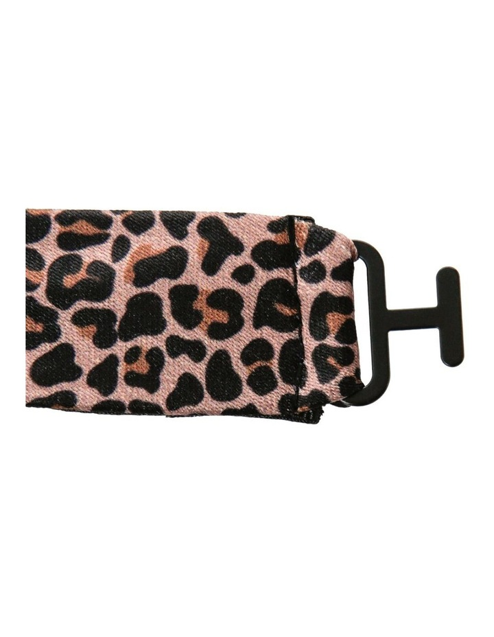 LEOPARD PRINT BOWTIE AND PIN SET image 3