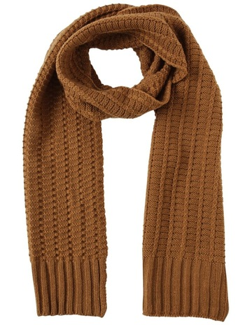 800a4771c27 Kenji MUSTARD CABLE KNIT SCARF