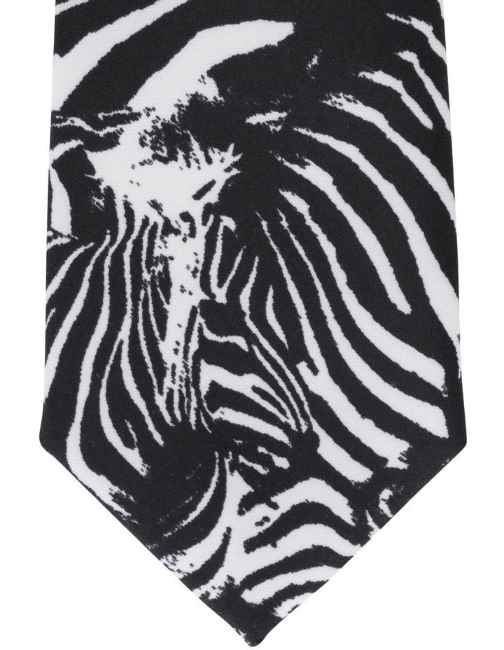 Zebra Printed Tie image 2
