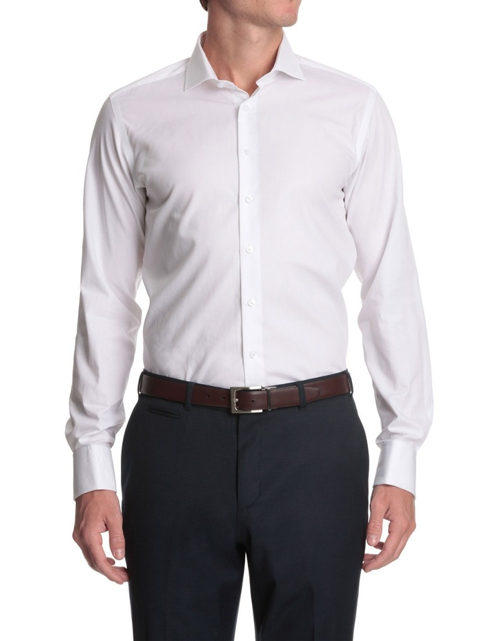 cutaway collar business shirt image 2