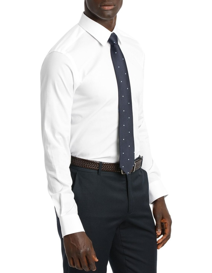 point collar business shirt image 2