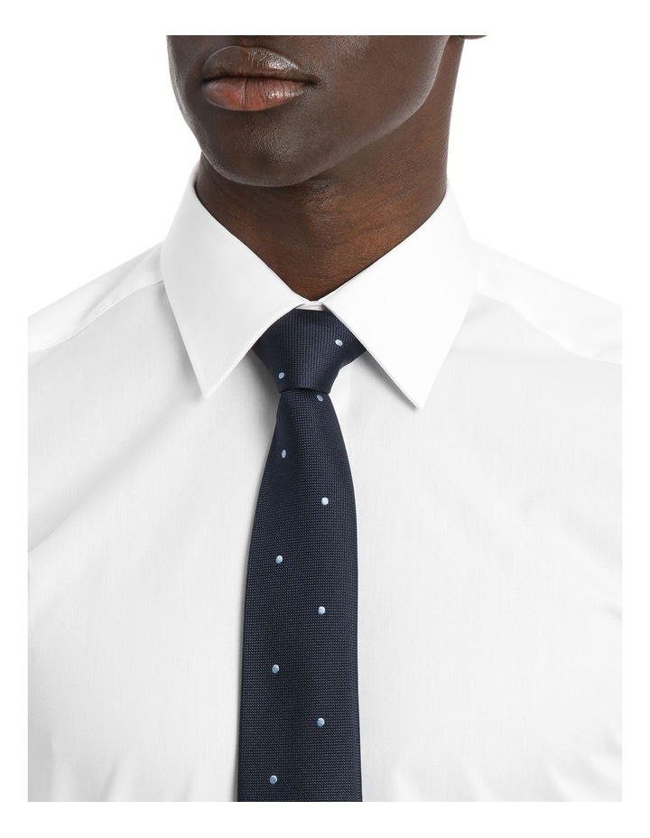 point collar business shirt image 4