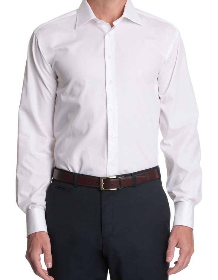 half cutaway collar business shirt image 2