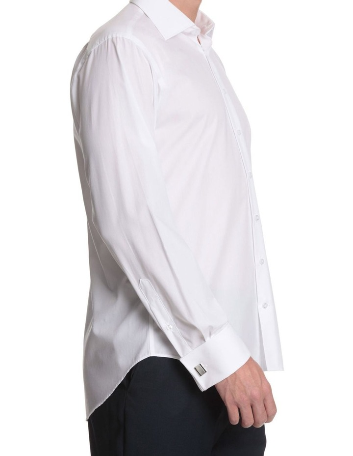 half cutaway collar business shirt image 4