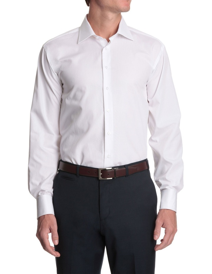 half cutaway collar business shirt image 1