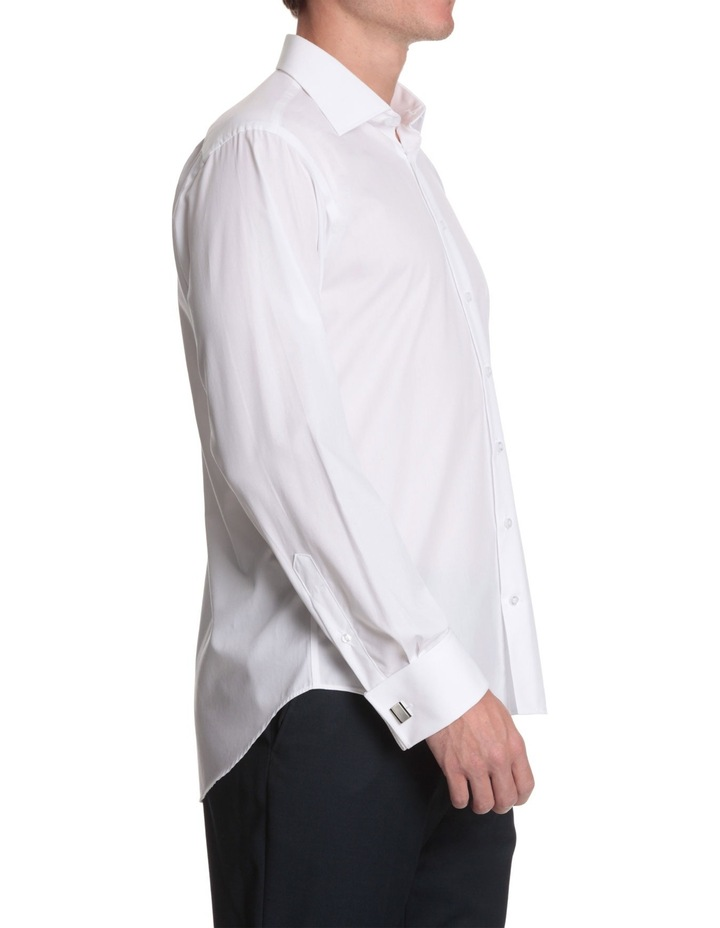 half cutaway collar business shirt image 3