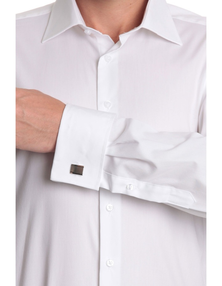half cutaway collar business shirt image 7
