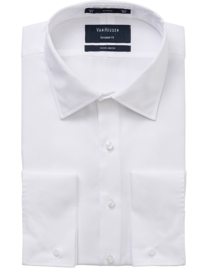 Plain White Business Shirt image 1