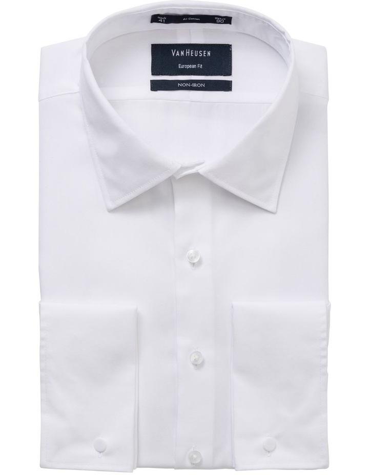 Plain White Business Shirt image 2