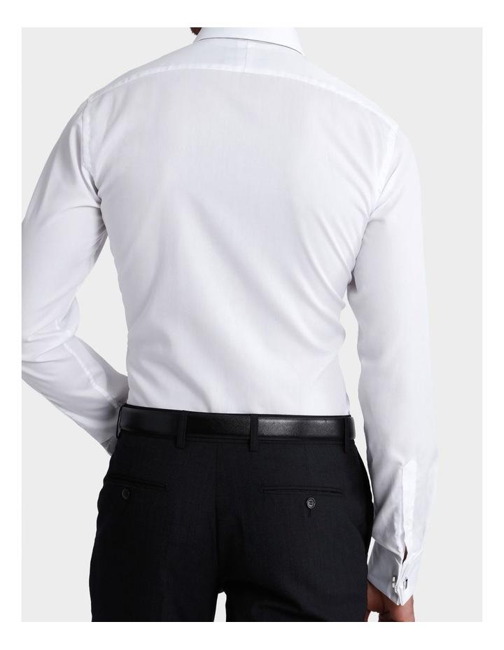 Plain White Business Shirt image 6