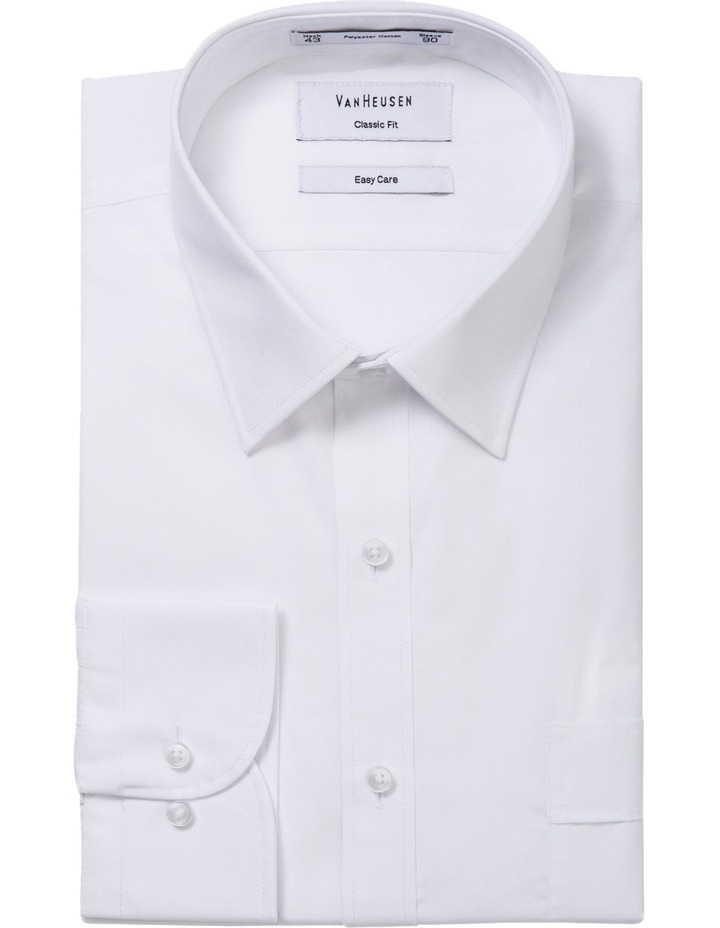 White Poplin Business Shirt image 1