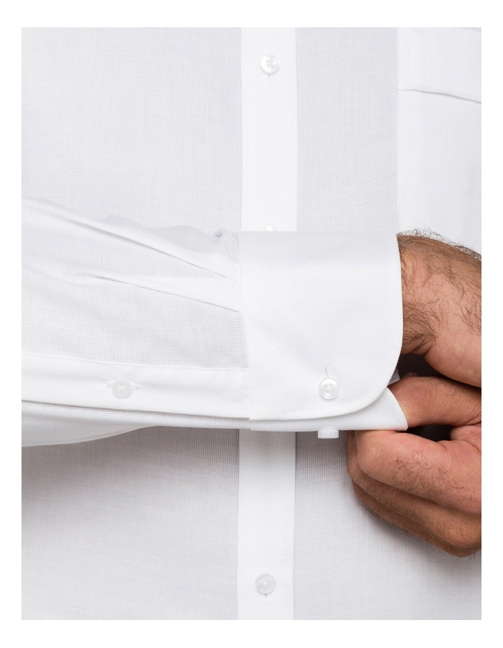 White Poplin Business Shirt image 4