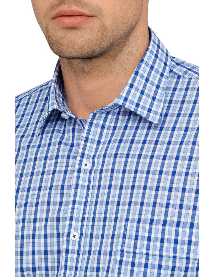 Mini Check Business Shirt image 2