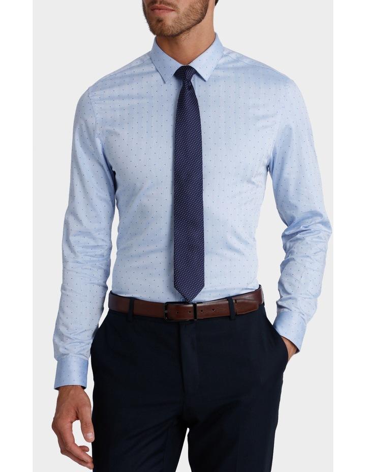 Dot Herringbone Business Shirt image 1