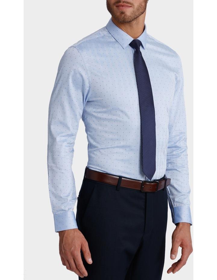 Dot Herringbone Business Shirt image 2